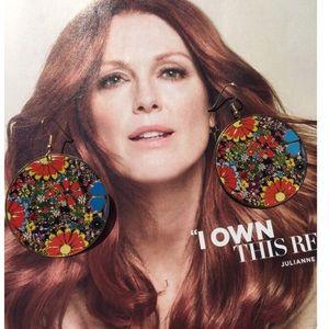 FLOWER POWER EARRINGS!